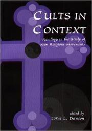 Cover of: Cults in context |