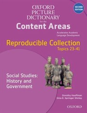 Cover of: Oxford Picture Dictionary For The Content Areas Reproducible Collection