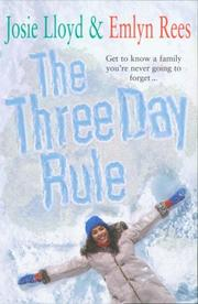 Cover of: The Three Day Rule | Josie Lloyd