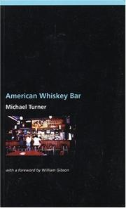 Cover of: American whiskey bar