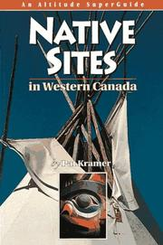 Cover of: Native sites in western Canada