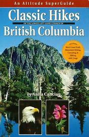 Classic Hikes of Southwest British Columbia