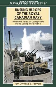 Cover of: Unsung Heroes of the Royal Canadian Navy
