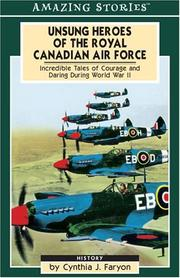 Cover of: Unsung Heroes of the Royal Canadian Air Force