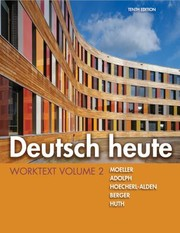 Cover of: Deutsch Heute Worktext Volume 2