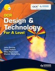 Cover of: Ocr Design And Technology For A Level