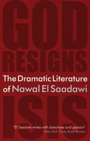 Cover of: The Dramatic Literature Of Nawal El Saadawi
