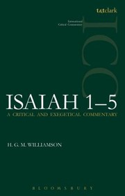 Cover of: Isaiah 15 ICC