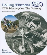 Rolling Thunder CCM Motorcycles by Peter Henshaw