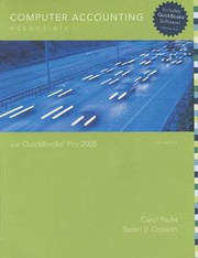 Cover of: Computer Accounting Essentials With Quickbooks Pro 2008
