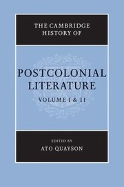 Cover of: The Cambridge History Of Postcolonial Literature