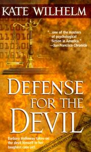 Cover of: Defense For The Devil (Barbara Holloway Novels) | Kate Wilhelm