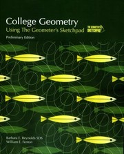 Cover of: College Geometry Using The Geometers Sketchpad