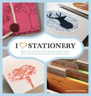 Cover of: I Heart Stationery |