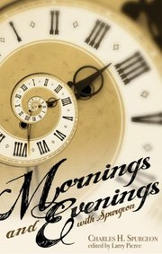 Cover of: Mornings and Evenings with Spurgeon