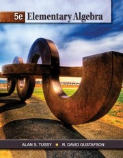 Cover of: Student Workbook for TussyGustafsons Elementary Algebra 5th