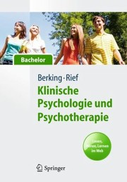 Cover of: Klinische Psychologie Und Psychotherapie Fr Bachelor