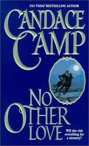 Cover of: No other love | Candace Camp