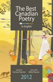 Cover of: The Best Canadian Poetry In English 2012