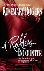Cover of: A Reckless Encounter | Rosemary Rogers