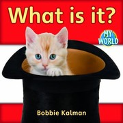 Cover of: What Is It