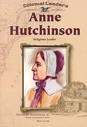 Cover of: Anne Hutchinson Religious Leader