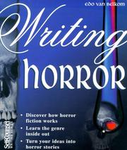Cover of: Writing Horror (Self-Counsel Writing)