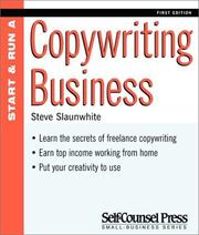 Cover of: Start and Run a Copywriting Business (Start & Run a)