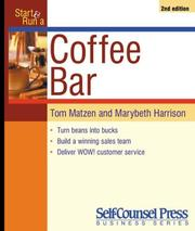Cover of: Start & run a coffee bar