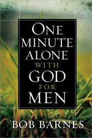 Cover of: One Minute Alone With God For Men