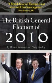 Cover of: The British General Election Of 2010