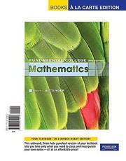 Cover of: Fundamental College Mathematics