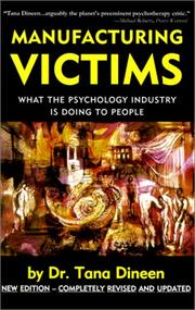 Cover of: Manufacturing Victims