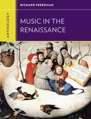 Cover of: Anthology for Music in the Renaissance