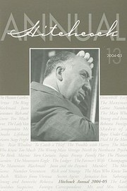 Cover of: Hitchcock Annual Volume 13