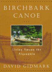 Cover of: Birchbark canoe | David Gidmark