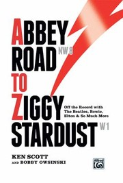 Cover of: Abbey Road to Ziggy Stardust