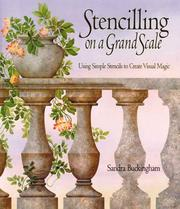 Cover of: Stencilling on a Grand Scale | Sandra Buckingham