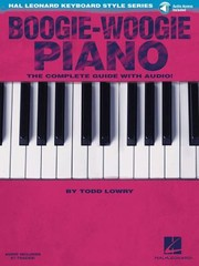 Cover of: Boogiewoogie Piano The Complete Guide With Cd