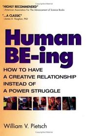 Cover of: Human BE-ing