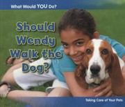 Cover of: Should Wendy Walk the Dog