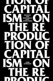 Cover of: On The Reproduction Of Capitalism Ideology And Ideological State Apparatuses