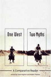 Cover of: One West, two myths |