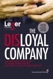 Cover of: The Disloyal Company