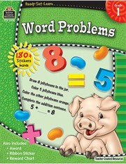 Cover of: Word Problems Grade 1 With 180 Stickers