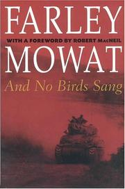 Cover of: And No Birds Sang (Farley Mowat Library)