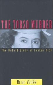 Cover of: The Torso Murder | Brian Vallee