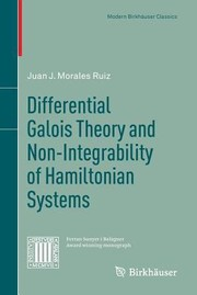 Cover of: Differential Galois Theory And Nonintegrability Of Hamiltonian Systems