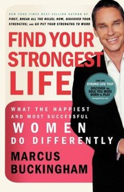 Cover of: Ie Find Your Strongest Life