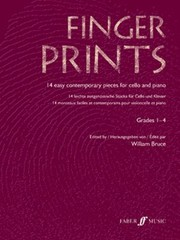 Cover of: Fingerprints 14 Easy Contemporary Pieces For Cello And Piano Grades 14